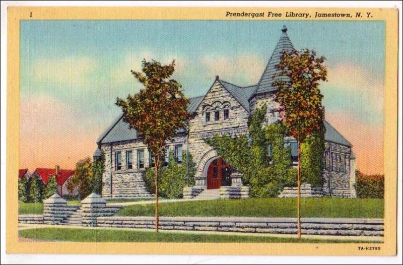 Predergast Library, Jamestown NY