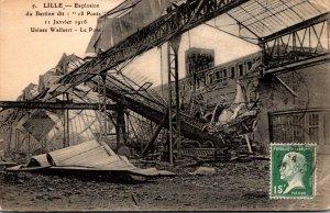 France Lille Explosion du Bastion 11 January 1916
