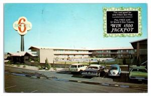 1976 Motel 6 Tropicana Ave, Las Vegas, NV Postcard