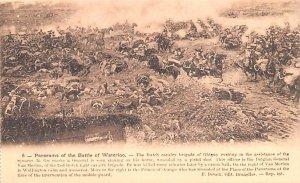 Panorama of the Battle of Waterlooo France Unused