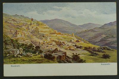 Nazareth , C & A Postcard circa 1910