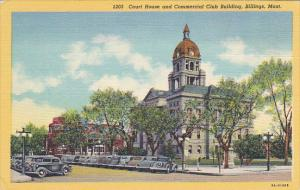 Montana Billings Court House and Commercial Club Building Curteich
