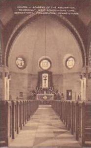 Pennsylvania Philadelphia Chapel Academy of Assumption Ravenhill West Schoolh...