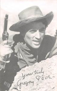 Gregory Pecs Western Actor Mutoscope Unused