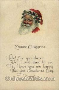 Christmas Santa Claus Postcard Postcards