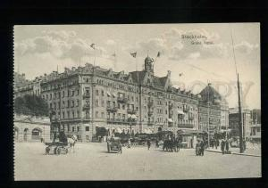 213556 SWEDEN STOCKHOLM Grand Hotel Vintage postcard