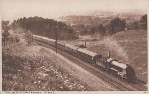 Atlantic Coast Express Train Antique Railway London Photochrom Railways Postcard