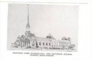 Proposed First Evangelical and Reformed Church, Salisbury, North Carolina, 1940s