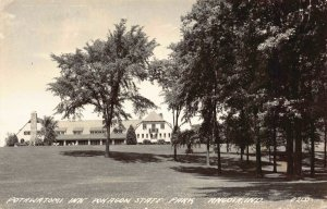 Real Photo Postcard Potawatomi Inn Pokagon State Park in Angola, Indiana~124628