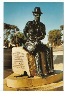 Australia Postcard - Hannan's Statue - Kalgoorlie - Western Australia   ZZ329