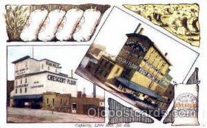 Voigt's Milling Co, Crescent Flower, Advertising Postcard Post Card Unused