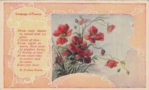 Language of Flowers , PU-1910 : Poem