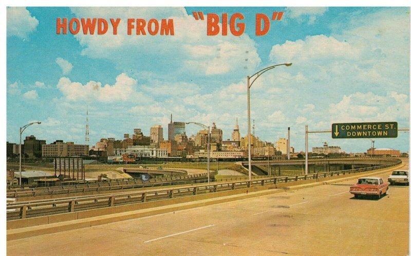 Postcard - 'Big D' Industrial Hub of the Southwest, Dallas, Texas