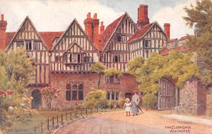 The Close Gate Winchester United Kingdom, Great Britain, England Unused