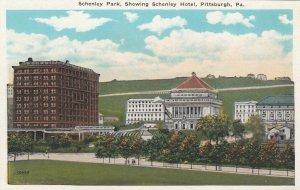 PITTSBURGH, Pennsylvania, 1910-20s; Schenley Park, Schenley Hotel