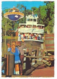 Mark Twain´s Boat  Huckleberry Finn , DREAMWORLD, Coomera, Queensland, Austr...
