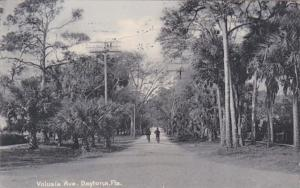 Florida Daytona Volusia Avenue 1911 Rotograph