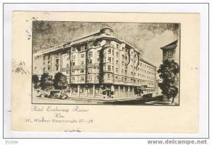 Hotel Erzherzog Rainer Wien, Wiedner Hauptstrasse 27-29, Austria, pu-1929
