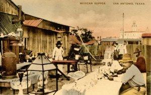 TX - San Antonio. Mexican Supper