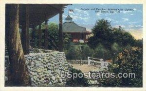 Pergola & Pavilion, Mission Cliff Garden - San Diego, CA