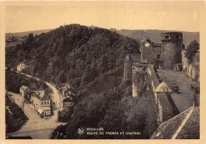 BR5818 Route de France et Chateau Bouillon  belgium