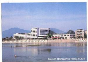 Scenic view,Ramada Renaissance Hotel, Guilin, China,40-60s