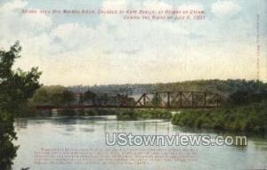 Bridge Over Des Moines River Des Moines IA Unused