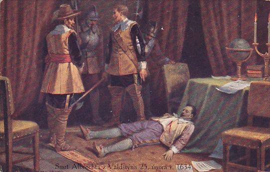 AS: Smrt Albrechta z. Valdstyna 23, unora r. 1634, 00-10s