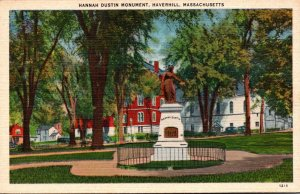 Massachusetts Haverhill Hannah Dustin Monument