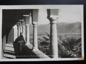 Italy: LOCARNO Portici della Basilica Madonna del Sasso - Old RP Postcard