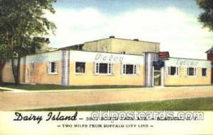 Dairy Island, Blasdell, New York, USA  Cow Cows, Postcard Post Card  Blasdell...