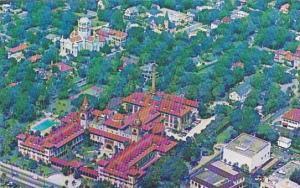 Aerial View Flagler College St Augustine Florida