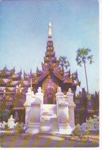 Myanmar Burma Shwe-Inbin Monastery