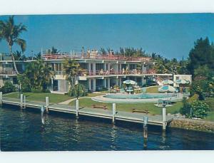 Pre-1980 APT MOTEL Pompano Beach By Hillsboro Inlet & Fort Lauderdale FL c2811