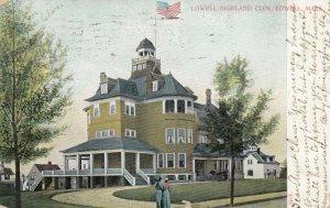 LOWELL , Massachusetts , 1907 ; Lowell Highland Club