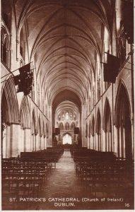 RP; DUBLIN, Ireland, 1920-1940s; St. Patrick's Cathedral, Church Of Ireland