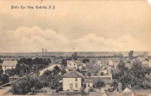 Enderlin North Dakota Birdseye View Of City Antique Postcard K82132