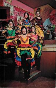 Miss Kitty & Can Can Dancers, Long Branch Saloon, Dodge City, KS, Kansas, Chrome