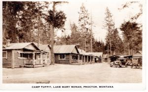 CAMP TUFFIT, LAKE MARY RONAN, PROCTOR, MONTANA