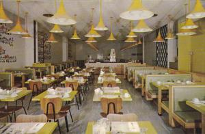 Coffee Shop , Holiday Inn Downtown , MONTREAL , Quebec , Canada , 50-60s