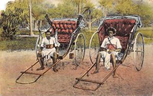 South Africa Native Typical Ricksha Boys Auto Rickshaw