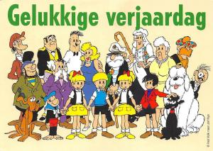 Gelukkige verjaardag fantasy figures characters Cartoons, Happy Birthday