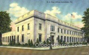 Lancaster, PA USA Post Office 1949