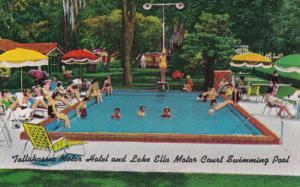 Swimming Pool , Tallahassee Motor Court , DADE CITY , Florida , PU-1956