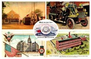 Connecticut  Post Card Club , Multi-view