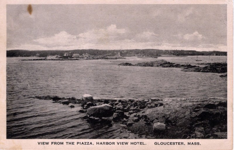 [ Sackett... ] US Massachusetts Gloucester - View From The Piazza