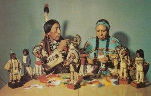 Indian craftsmen , Pawnee Bill's Indian Trading Post , Oklahoma , 1950-60s