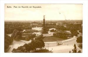 RP  BERLIN. Platz der Republik mit Siegessaule , Germany, 00-10s