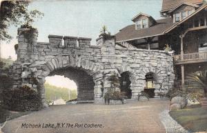 Mohonk Lake New York~Planters @ The Big Stone Porte Cochere
