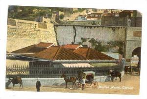 Moorish market, Gibraltor, Uniterd Kingdom, PU-1946